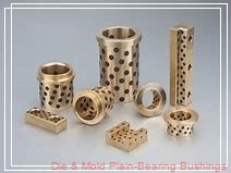 Bunting Bearings, LLC M0810BU Die & Mold Plain-Bearing Bushings