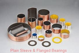 Bunting Bearings, LLC EP081012 Plain Sleeve & Flanged Bearings