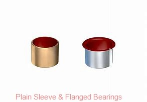 Bunting Bearings, LLC EP060810 Plain Sleeve & Flanged Bearings