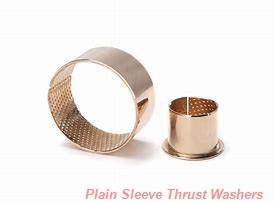 Bunting Bearings, LLC TT160304 Plain Sleeve Thrust Washers