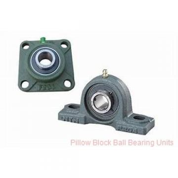 35 mm x 118.9 to 138.2 mm x 1-23/32 in  Dodge P2BSC35M Pillow Block Ball Bearing Units