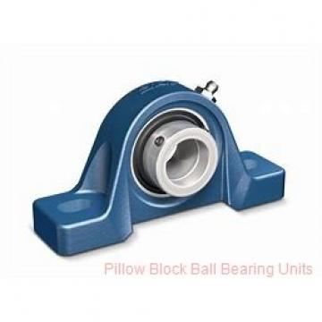 3.4375 in x 10.32 to 11.62 in x 2.8 in  Dodge P2B-GT-18 Pillow Block Ball Bearing Units