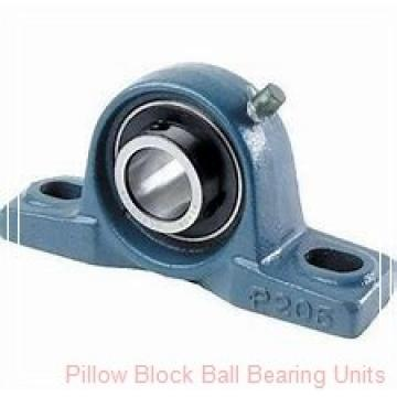 1.0000 in x 3.69 to 4-1/2 in x 1.34 in  Dodge P2BVSC100 Pillow Block Ball Bearing Units
