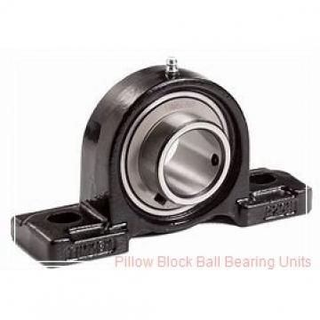 1.4375 in x 4.68 to 5.44 in x 1.53 in  Dodge P2B-SXV-107-NL Pillow Block Ball Bearing Units