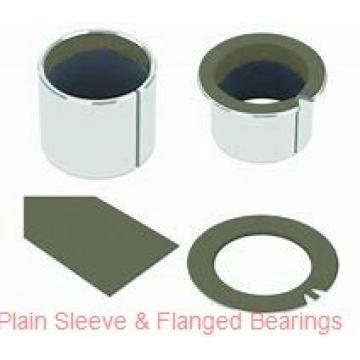 Bunting Bearings, LLC CB162008 Plain Sleeve & Flanged Bearings