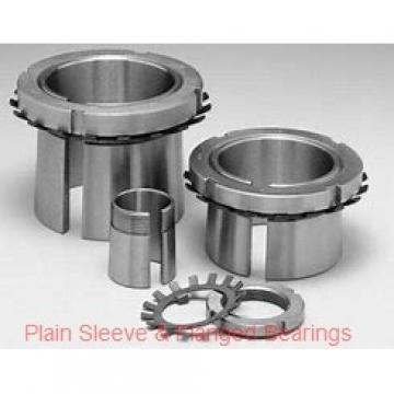 Bunting Bearings, LLC EP060816 Plain Sleeve & Flanged Bearings