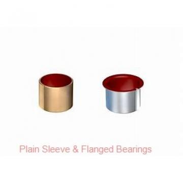Bunting Bearings, LLC EP060808 Plain Sleeve & Flanged Bearings
