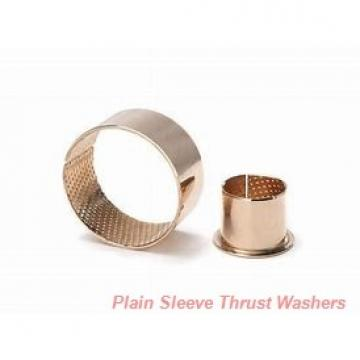 Bunting Bearings, LLC EW101601 Plain Sleeve Thrust Washers