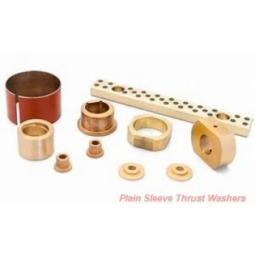Bunting Bearings, LLC EW081602 Plain Sleeve Thrust Washers