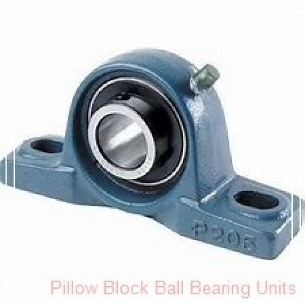 1.0000 in x 3.69 to 4-1/2 in x 1.34 in  Dodge P2BVSC100 Pillow Block Ball Bearing Units #2 image
