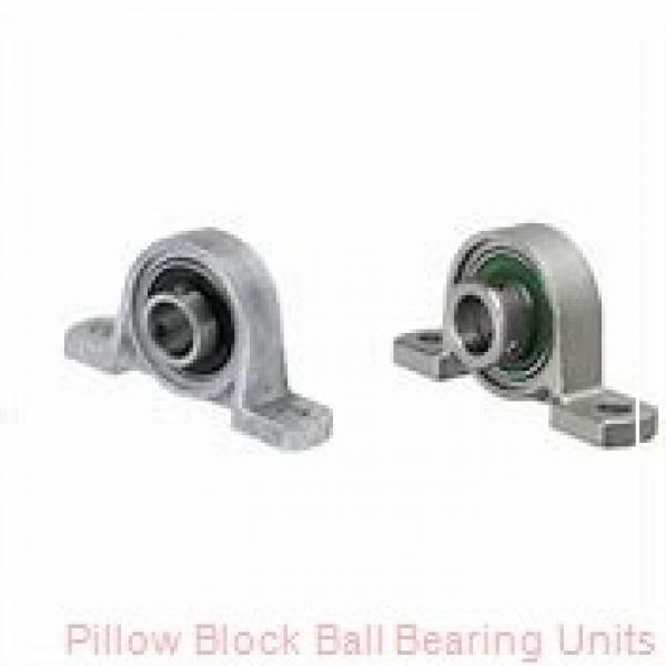 1.0000 in x 3.69 to 4-1/2 in x 1.34 in  Dodge P2BVSC100 Pillow Block Ball Bearing Units #1 image