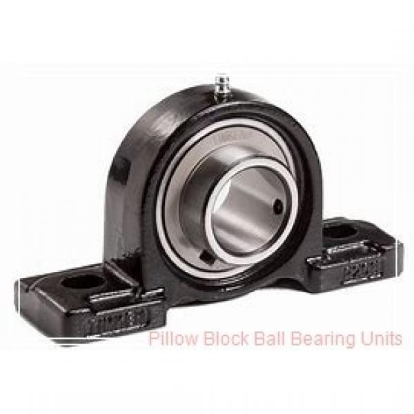 1.0000 in x 4-1/4 to 5 in x 1.34 in  Dodge P2BSCM100 Pillow Block Ball Bearing Units #1 image